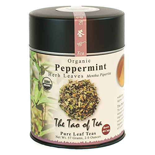 The Tao of Tea, Peppermint Herbal Tea, Loose Leaf, 2 Ounce Tin