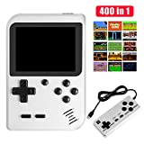 Handheld Game Console, Molyhood Portable Retro Game Player, 2.8-inch display Built in 400