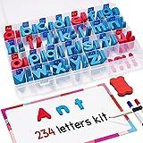 JoyNote Classroom Magnetic Letters Kit 234 Pcs with...