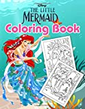 The Little Mermaid Coloring Book: Amazing Gift For Those Who Are Huge Fans Of The Little Mermaid In Fairy Tale Relaxation And Stress Relief
