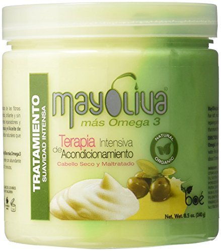 Boe Mayoliva Intensive Conditioning Therapy for Dry & Damaged Hair, 8.5 Oz, 8.5 Ounces