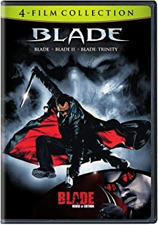 4 Film Favorites: Blade (Blade, Blade 2, Blade: House of Chthon, Blade: Trinity)