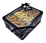 The Ludlow Nut Company Mixed Nut Selection Gift Tin – Assorted Nut Gift Set, 710 Gram