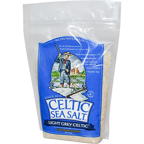 Celtic Sea Salt, Light Grey Celtic, Vital Mineral Blend, 1 lb (454 g) - 2pcs