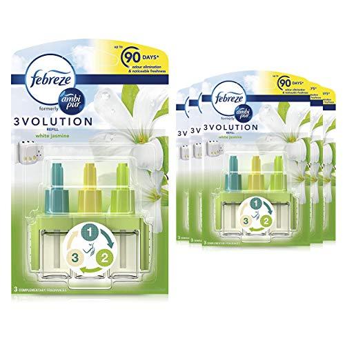 Febreze Ambi Pur 3Volution Air Freshener Plug-In Diffuser Refill, 120 ml...