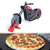 Mowtom Pizza Cutter Moto in Acciaio Inox Rullo Pizza Pizza Cutter Pizza Cutter Pizza Cutter Pizza