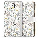 DeinDesign Étui Compatible avec Samsung Galaxy Note 3 Étui Folio Étui magnétique Produit sous...