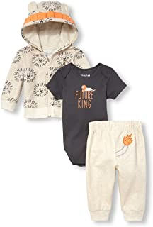 The Children's Place Baby-Boys 3 Pack Novelty Printed Jacket Set Layette Set