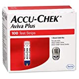 Accu-Chek Aviva Plus Test Strips -100 ct, Pack of 2