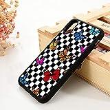 WGOUT para iPhone 5 5S 6 6S Funda de Gel de sílice de TPU Suavepara iPhone7 Plus X XS 11 Pro MAX XR Celosía Mariposa Pola, para iPhone 6S
