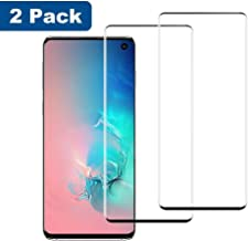 LasGame Galaxy S10 Screen Protector Tempered Glass,[2-Pack][Anti-Fingerprint][No-Bubble][Scratch-Resistant] Glass Screen Protector for Samsung Galaxy S10