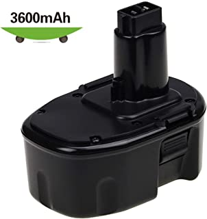 [Upgraded to 3600mAh] 14.4 Volt DW9094 Ni-Mh Replace for Dewalt 14.4V Battery XRP DC9091 DW9091 DW935 DE9038 DE9091 DE9092 Cordless Power Tools