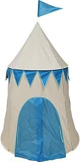 XZGang Konisk tält med färgglada flaggor, Yurt Play Teepee för barn Lätt indiska Tipi tält -Spela tält för pojkar, flickor...