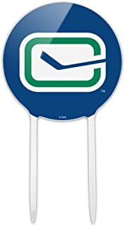 GRAPHICS & MORE Acrylic NHL Vancouver Canucks Logo Cake Topper Party Decoration for Wedding Anniversary Birthday Graduation