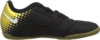 Men's Bombax Indoor Soccer Shoe Black/White/Metallic Vivid Gold Size 11 M US