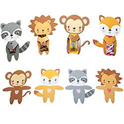 Animal hug valentines