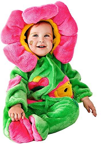 VENEZIANO Costume Carnevale da Dolce FIORELLINO Vestito per Neonato Bambino 3-12 Mesi Travestimento Halloween Cosplay Festa Party 88085 6-9 Mesi