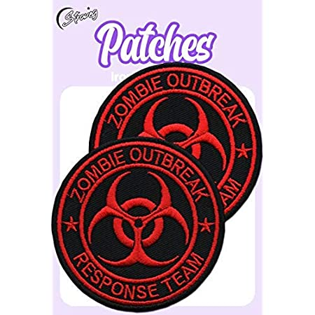 STRAVEG Premium Iron-on Embroidery Decorative Sew-on Patches Appliqu/é for Backpack Jeans Jackets Shirts Garments S-176
