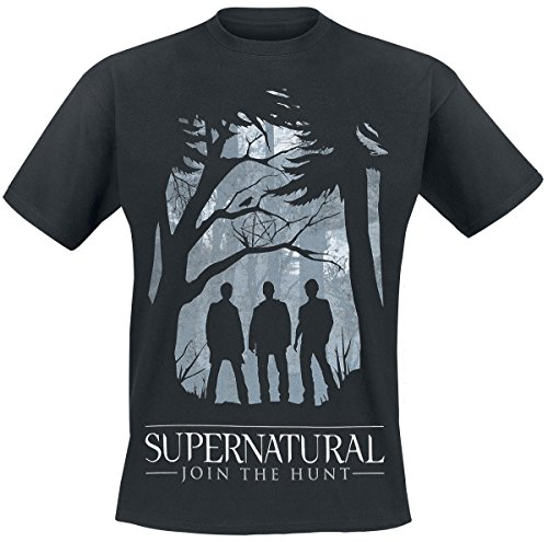 Cid Supernatural-Group Outline T-Shirt Homme, Multicolore, FR : M (Taille Fabricant : M)