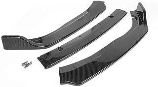 FidgetKute 100 Car Front Bumper Lip Splitter Body Side Trim Spoiler Protector Carbon Fiber