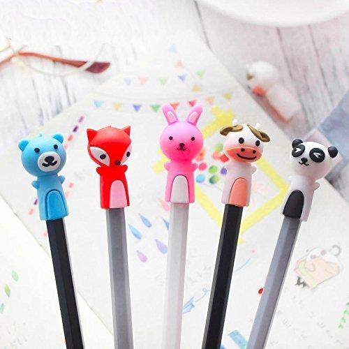 Treasure-House 9 pcs Kind Bleistift Topper Kausalen Stift Kappe BPA FREI Silikon Beißring Therapie Spielzeug