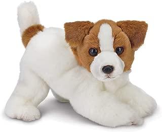 Bearington Jack Russell Terrier Plush Stuffed Animal Puppy Dog, 13 inches