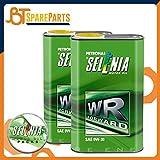 Olio Selenia WR Forward - SAE 0W-30 0W30 ACEA C2 - Motori Diesel EURO 6 - Confezione da 2 Lt