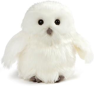 """GUND Ophelia Snowy Owl Stuffed Animal Plush, White, 7"""""""
