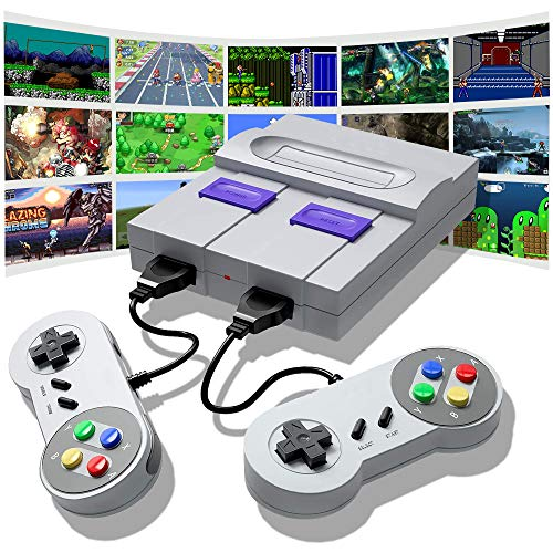 Eleckal Retro Game Console, HDMI HD Built-in 821 Classic Video Games