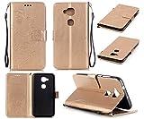 Qiaogle Téléphone Coque - PU Cuir Rabat Wallet Housse Case pour Huawei G8 / G7 Plus (5.5 Pouce) -...