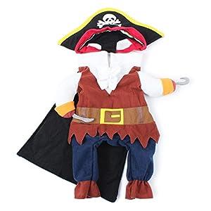 Costume Pirate Vêtements Déguisement pour Animal de Compagnie Chien Chat