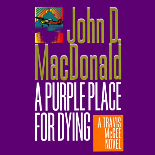 A Purple Place for Dying audiobook cover art