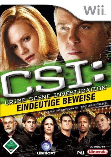 Ubisoft  CSI Hard Evidence Nintendo Wii
