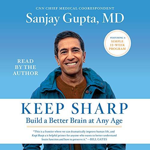 Keep Sharp Audiobook By Sanjay Gupta MD cover art
