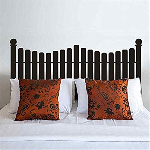 pegatinas de pared 3d infantil Cabecero calcomanía de pared estilo de la valla del piquete para Twin Full Queen King Size cama vinilo etiqueta de la pared Sticker