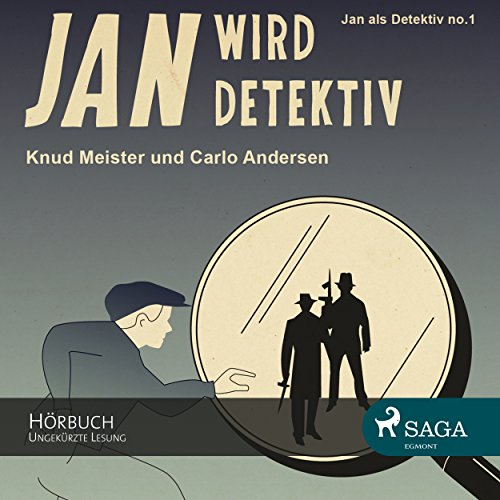 Jan wird Detektiv (Jan als Detektiv 1) audiobook cover art