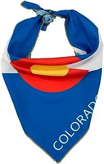 Colorado Flag Dog Bandana in 2 Sizes