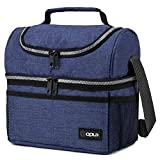 Best Work Lunch Boxes - Insulated Dual Compartment Lunch Bag for Men, Women Review