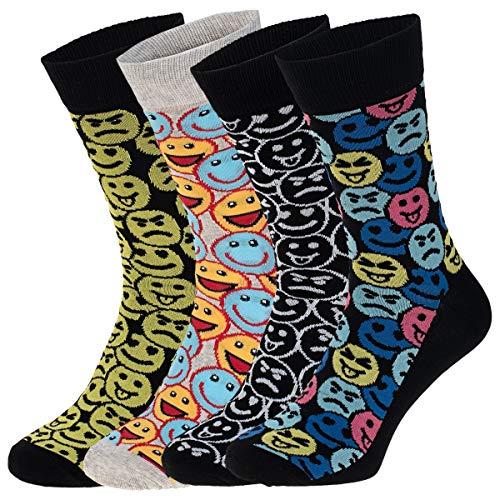 JACK und JONES 4-er Set Socken Größe 41-46