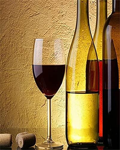Kit de Pintura de Diamante 5D DIY Copa de vino 50x80cm/20x32in talla...