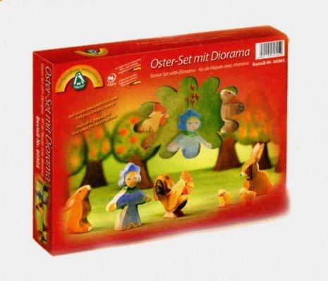 Ostheimer 60305 - Oster Set mit Diorama 7-tlg.