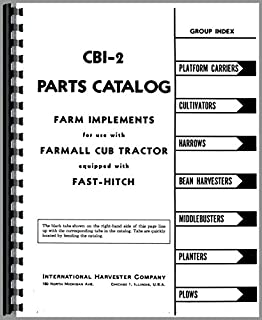 farmall cub fast hitch parts