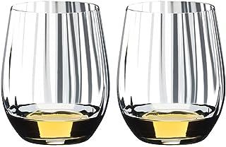Verre de vin Ensemble de verre de whisky de 2, verre de whiskey cristal Verres d'épaisseur Gobelet pour Scotch, Cocktail, ...