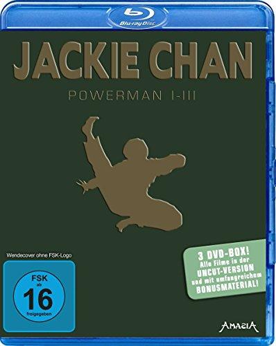 Jackie Chan - Powerman 1-3 [Blu-ray]