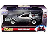 Delorean DMC Time Machine, Back to The Future I - Jada Toys 32185 - 1/32 Scale Diecast Model Toy Car