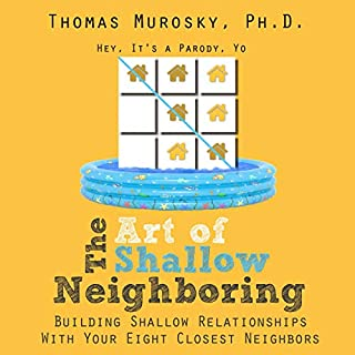 The Art of Shallow Neighboring audiobook cover art