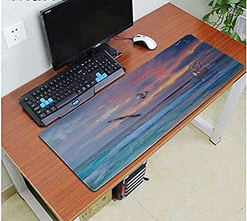 Alfombrilla de ratón de goma para ordenador o videojuegos, de 90 x 30 cm x 0,3 cm, de goma suave, para mesa, para escritorio, etc