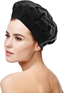 Cordless Deep Conditioning Heat Cap - Hair Styling and Treatment Steam Cap | Heat Therapy and Thermal Spa Hair Steamer Gel...