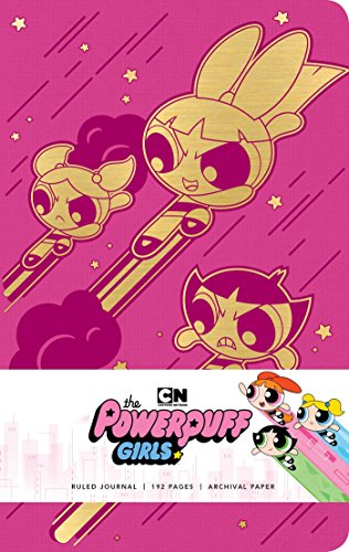 Powerpuff Girls Hardcover Ruled Journal