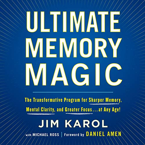 Ultimate Memory Magic audiobook cover art